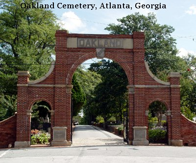Oakland Cemetery Atlanta Georgia
