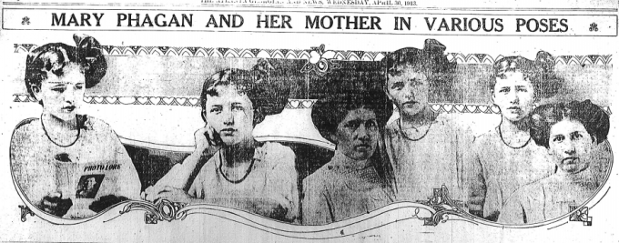 Mary Phagan and her mother