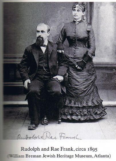 Rachel Jacobs and Rudolph Frank