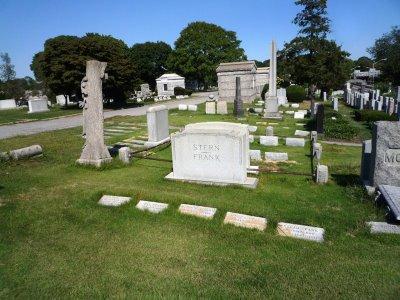 The Leo Frank Family Grave Site Mount Carmel Cemetary