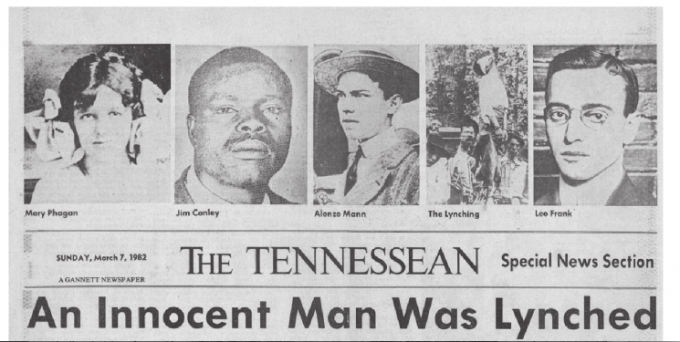 """The players"" from the front page of the Nashville Tennessean"