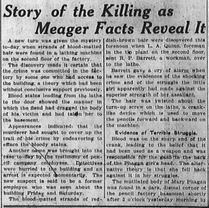 Story of the Killing as Meager Facts Reveal It