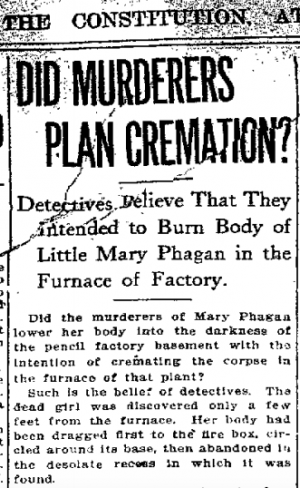 Did Murderers Plan Cremation