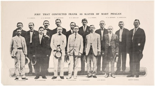 The jury that convicted Leo Frank