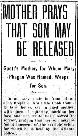 Mother Prays that Son May Be Released