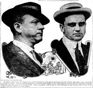Detectives John Black and Harry Scott