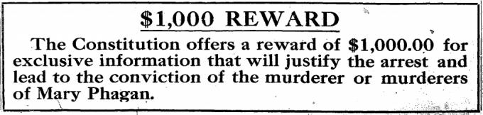 Thousand Dollar Reward