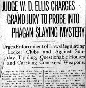 Judge W Ellis Charges