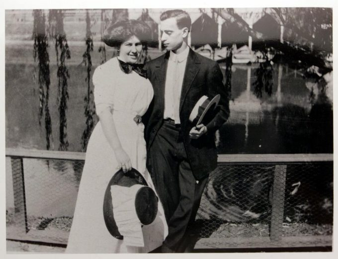 Lucille Selig and Leo Frank
