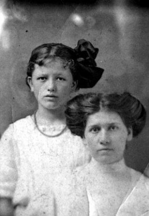 Mary Phagan and her aunt