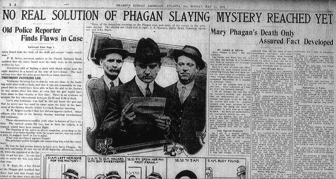 Mary Phagan's Death Only