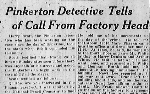 Pinkerton Detective Tells of Call