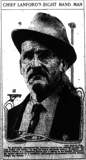 He personally represented the detective chief in the attempt to trap Colonel Felder and others. In fact, he began the work A. S. Colyar. Detective Ozburn is a prominent Mason and a deacon in the Baptist Tabernacle. He makes affidavit to a telephone conversation he overheard between Colonel Felder and Colyar.