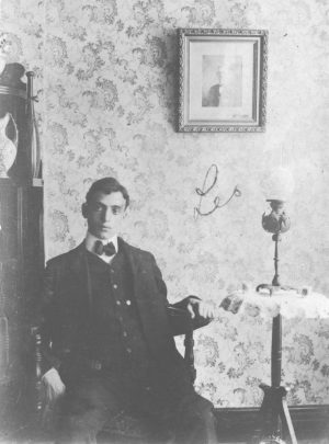 Leo Frank, an undated family photograph