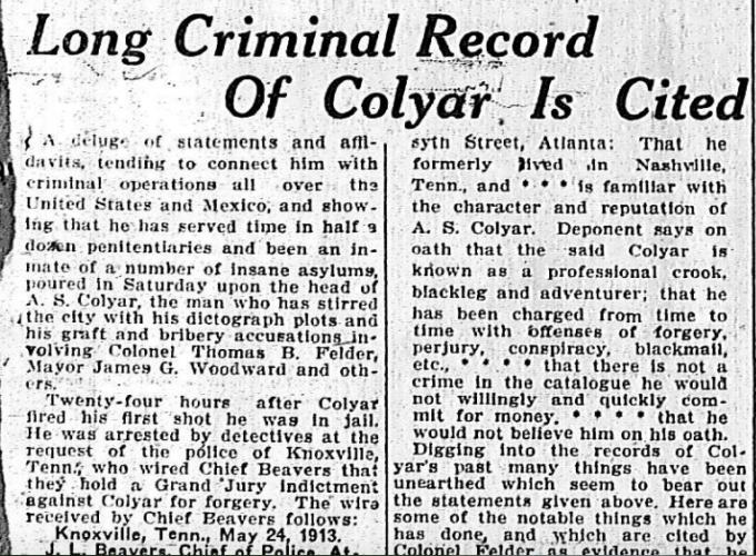 Long Criminal Record