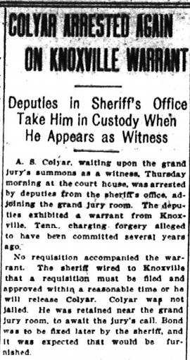 colyar-arrested